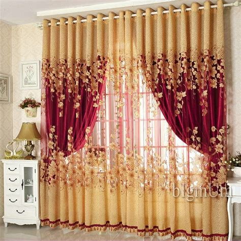 Window Drapes On Sale - on sale curtains luxury beaded for living room tulle
