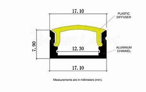 Mini T12 Aluminum Led Channel