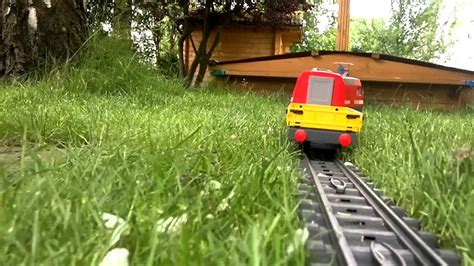 Playmobil Eisenbahn Im Garten 2012 Youtube