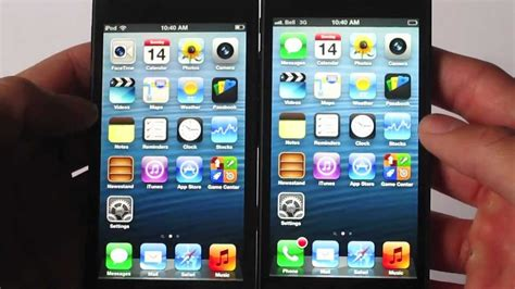 ipod vs iphone iphone 5 vs ipod touch 5g 1681