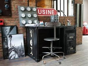 Maison Du Monde Industriel : 10 bureaux 10 ambiances ~ Teatrodelosmanantiales.com Idées de Décoration