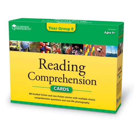 Reading Comprehension Cards Set 3 Literacy