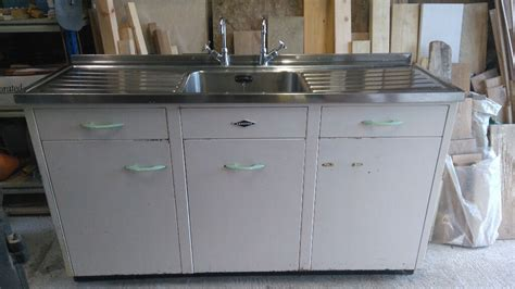 vintage leisure kitchen sink unit proceeds  sale