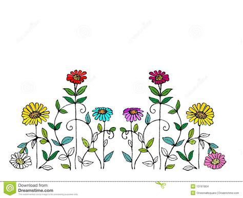 whimsical flower illustration stock images image