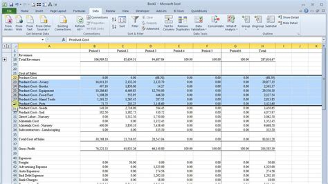 excel rows columns vs grouping