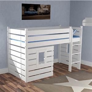 Hochbett 1 40x2 00 : hochbett h ttenbett beach wei umbaubar zum einzelbett g nstig online kaufen ~ Bigdaddyawards.com Haus und Dekorationen