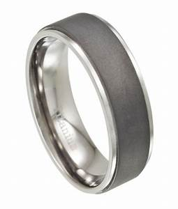 titanium men39s wedding ring with matte finish With modern mens wedding rings