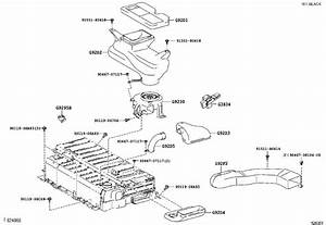 Toyota Camry Duct  Hybrid Battery Intake  No  4