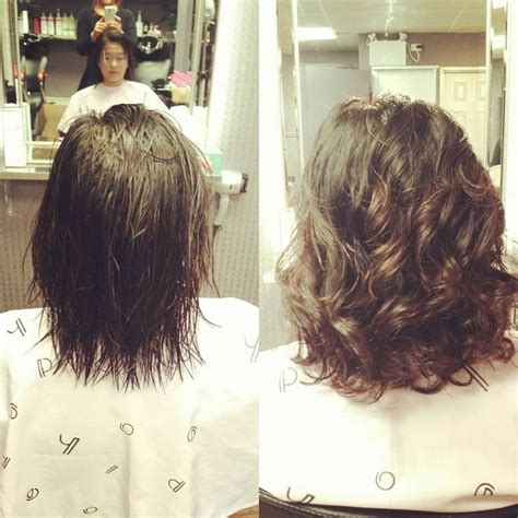 body wave perm short hair    gallery