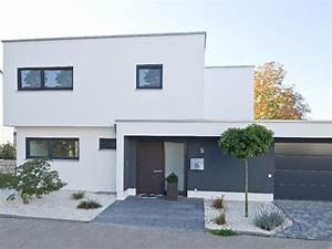 Haus Bausatz Bungalow : stadtvilla mit seitlicher garage ~ Sanjose-hotels-ca.com Haus und Dekorationen