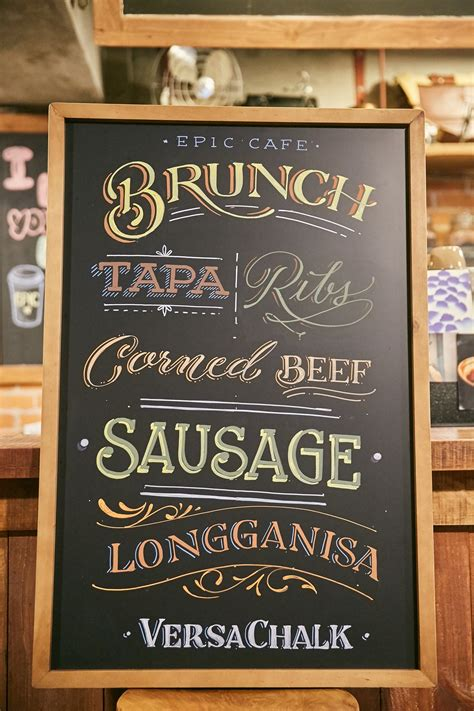 top  chalkboard fonts  professional lettering   youre
