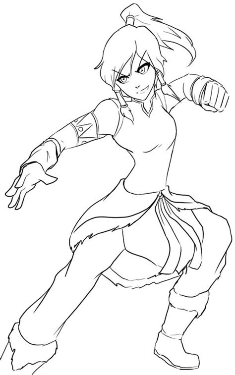 Avatar The Coloring Pages Coloring Home Avatar Legend Of Korra Coloring Pages Coloring Home