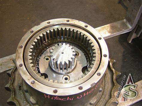 hitachi final drives travel motors heavy equipment parts