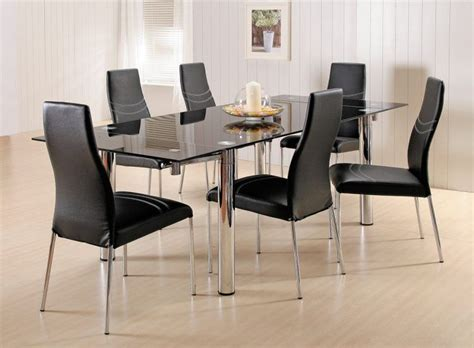 small contemporary kitchen tables 20 amazing glass top dining table designs