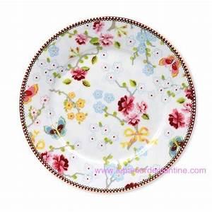 Lot D Assiette Pas Cher : vente d 39 assiette 21cm chinese blanche pip studio en porcelaine pas cher ~ Melissatoandfro.com Idées de Décoration