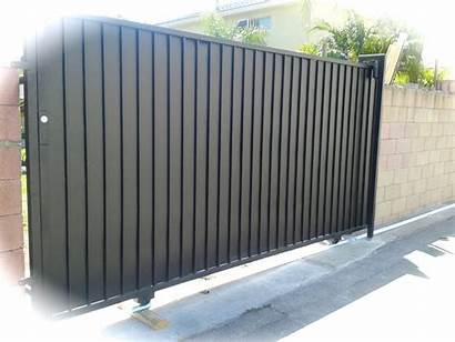 Gates Driveway Gate Sheet Metal Iron Sliding