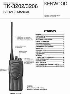 Kenwood Two Way Radio Tk 3202 Users Manual 3202 Cover