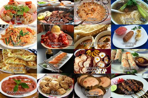 different types of food dishes food ideas