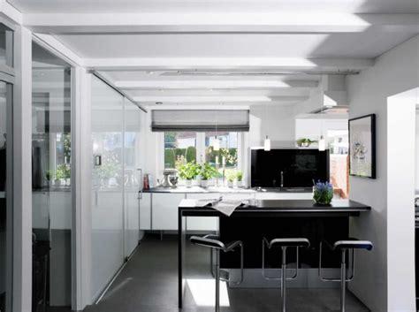 id馥 cuisine moderne cuisine moderne en noir et blanc 35 idées magnifiques