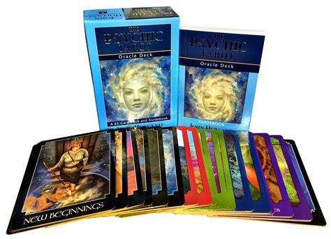the deck company the mini collection the psychic tarot oracle deck collection box gift set mind