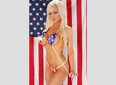 The Federalist Saturday Sultress American Flag Bikinis