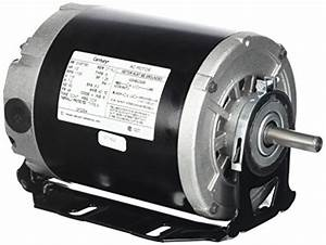 A O  Smith Gf2054 1  2 Hp  1725 Rpm  115 Volts  48  56 Frame  Odp  Sleeve Bearing
