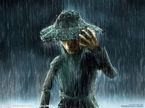 雨中的稻草人设计图__动漫人物_动漫动画_设计图库_昵图网nipic.com