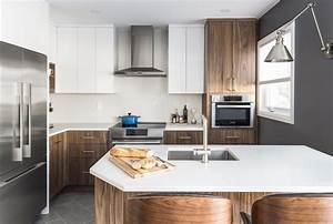 Monarch, Tackles, Lack, Of, Storage, In, This, Small, Mid-century, Modern, Kitchen, Design
