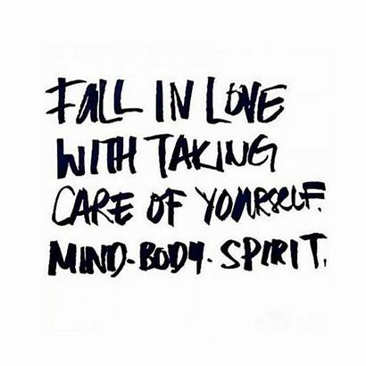 Yourself Care Taking Fall Daily Inspiration Quote