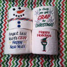 embroidered toilet paper on Pinterest