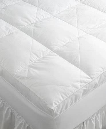 macys mattress topper hotel collection fiberbeds mattress pads toppers bed