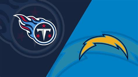 los angeles chargers  tennessee titans matchup preview  analysis depth charts
