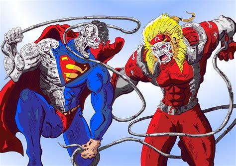 cyborg superman  omega red   bboyquesodeviantart