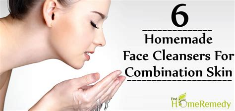 6 Diy Homemade Face Cleansers For Combination Skin