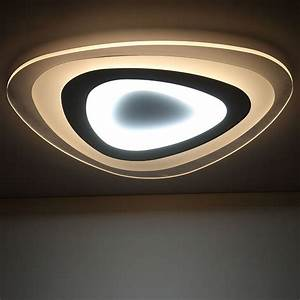 Moderne Deckenleuchten Led : buy remote control living room bedroom modern led ceiling lights luminarias ~ Frokenaadalensverden.com Haus und Dekorationen