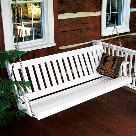 furniture yellow pine traditional english porch