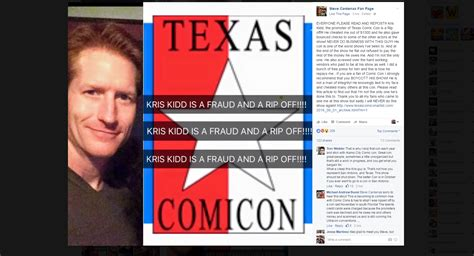 Texas Comicon Promoter Accused Of Cheating S.a.'s Power