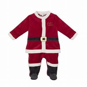 Tenue De Pere Noel : pyjama bebe fille pere noel ~ Farleysfitness.com Idées de Décoration