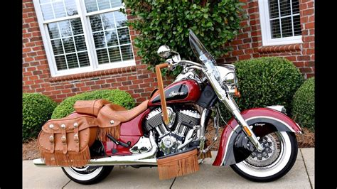 New 2018 Indian Motorcycle Chief Vintage Indian Red 150