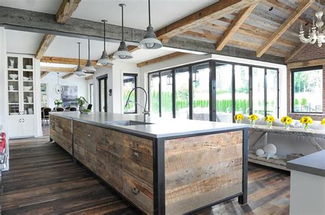 reclaimed wood kitchen ceiling wow blog