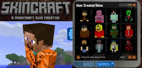 minecraft skin creator create  minecraft skin