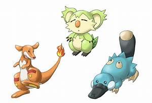 Australian Starter Pokemon | Fakemon | Know Your Meme