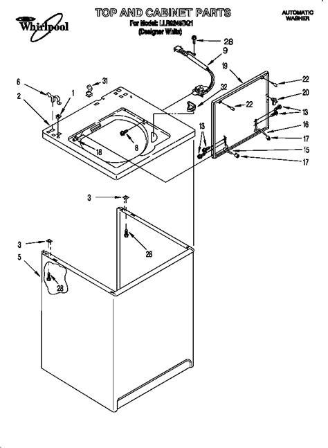 kenmore washing machine parts diagram automotive parts