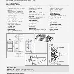 Wiring A Motion Sensor Light Diagram