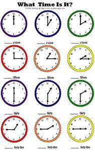 Time Worksheet Quarter Hour Clock