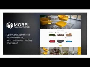 Mobel Furniture OpenCart Theme Themeforest Templates