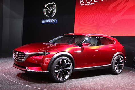 mazda maker mazda reveals new design direction with koeru concept