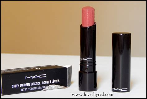 Mac Sheen Supreme Lipstick Mac Sheen Supreme Lipstick Impressive Review And Swatch