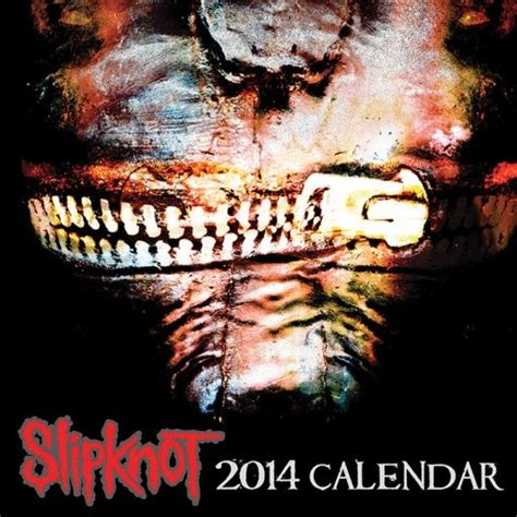 calendar slipknot calendars ukpostersukposters