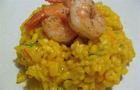 recette de cuisine marocaine facile recette risotto de crevettes au curry sur zezette